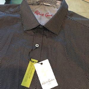 New Men's Robert Graham Shirt AMSDEN Sz XL $198
